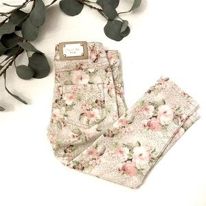 Mayoral Chic Floral Print Jeans